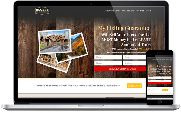 Lead Capture IDX for Real Estate Agents